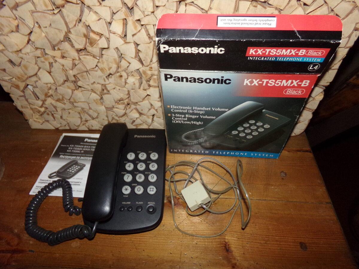 Кнопочный телефон PANASONIC. 1990-тые года.