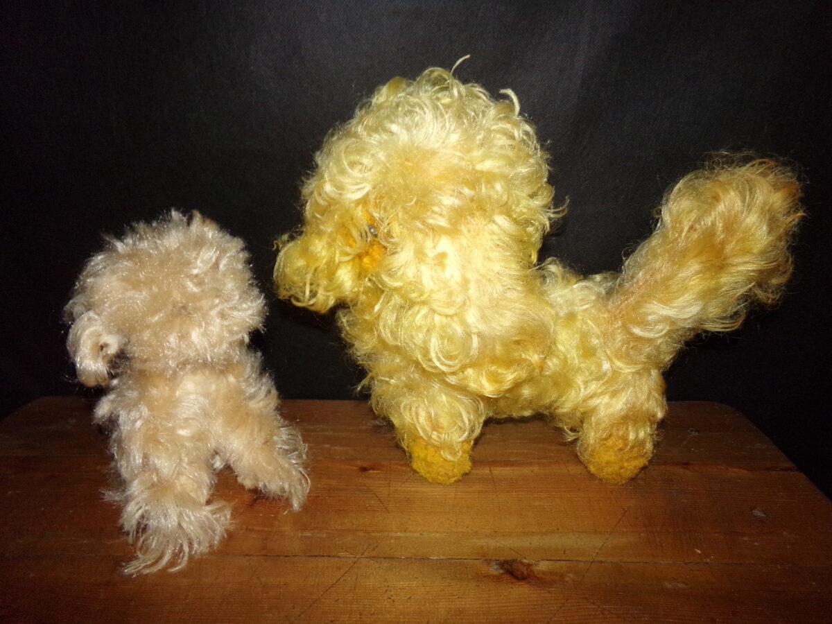 Две мягкие игрушки-собачки. СССР.