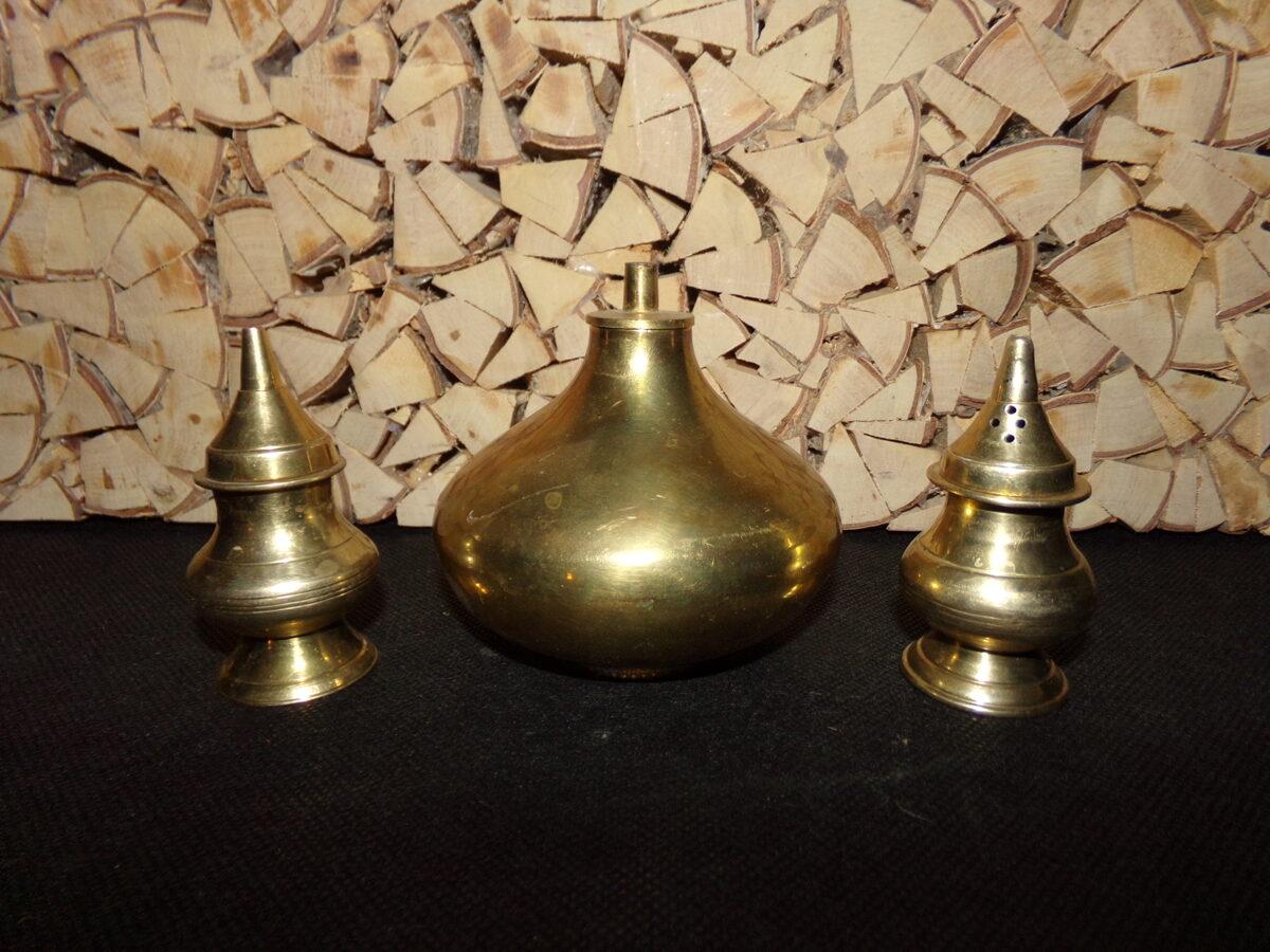 Столовый набор для специй из бронзы. Начало 20 века.