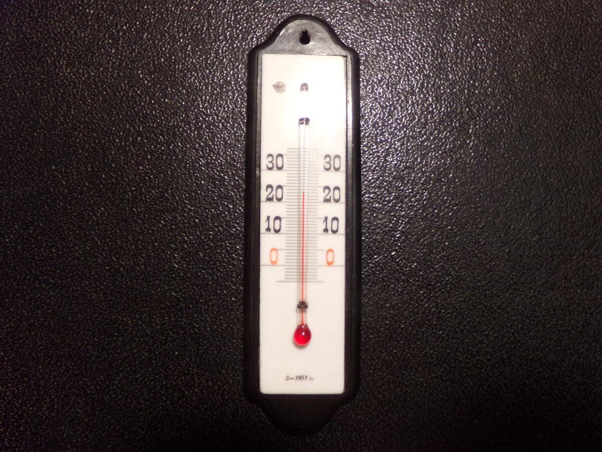 Комнатный градусник. СССР. 1951 год.