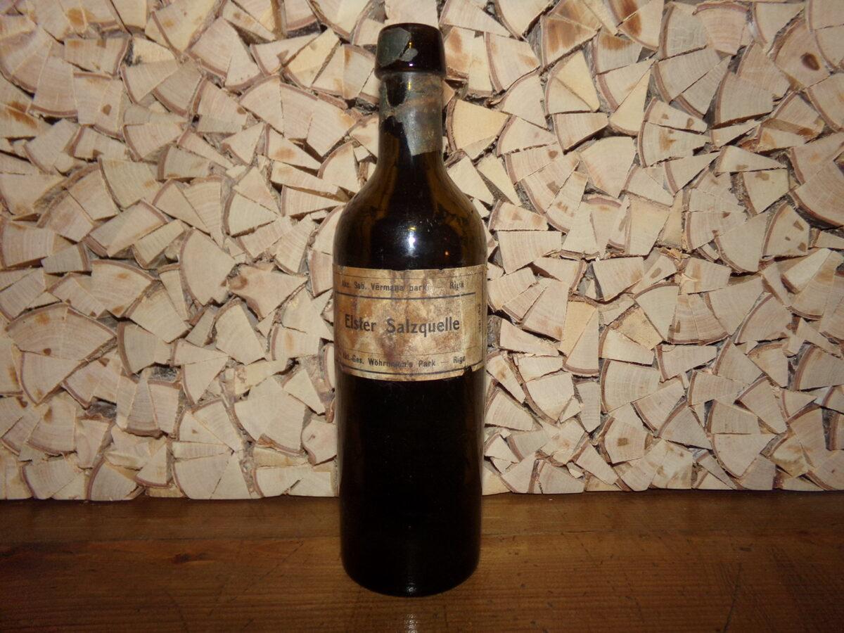 Бутылка Ельстер. Латвия. 1920-30 года.