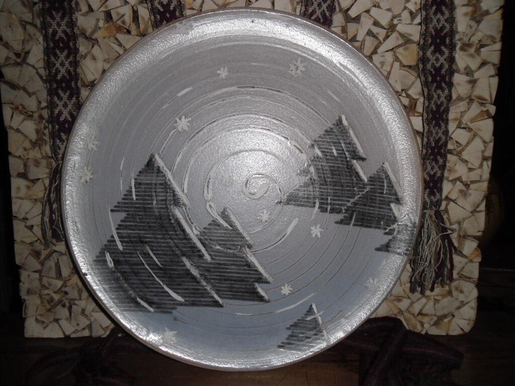 Dekoratīvais šķīvis Nr 7