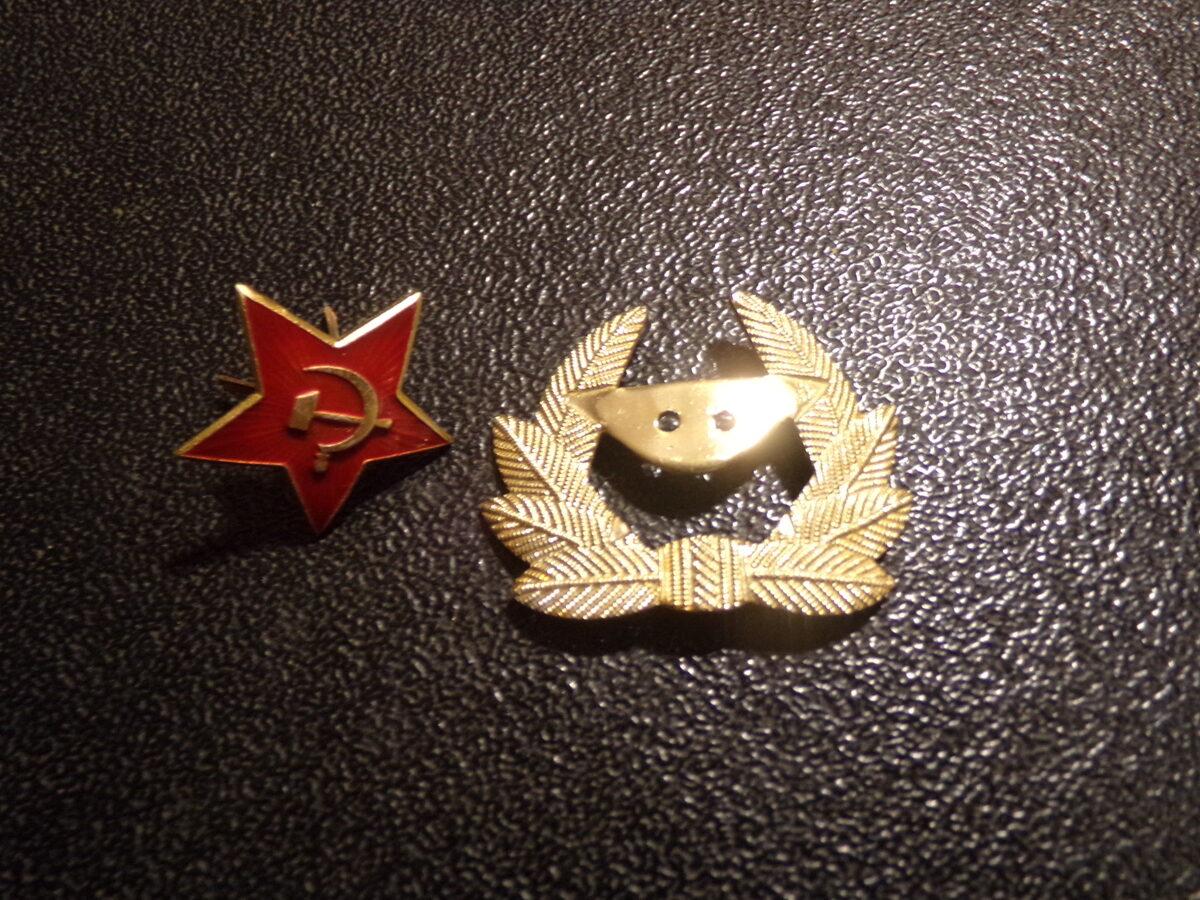 Разборная кокарда. Советская Армия.