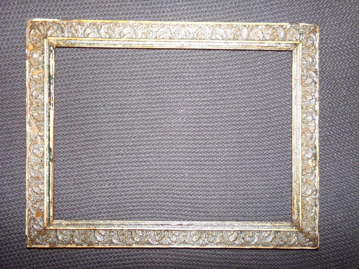 Лепная рамка. 19 век. Размер 31х40 см.
