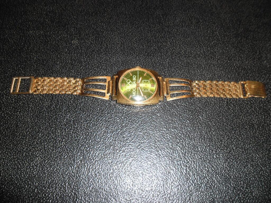 Мужские наручные часы с олимпийской символикой- Москва 80.