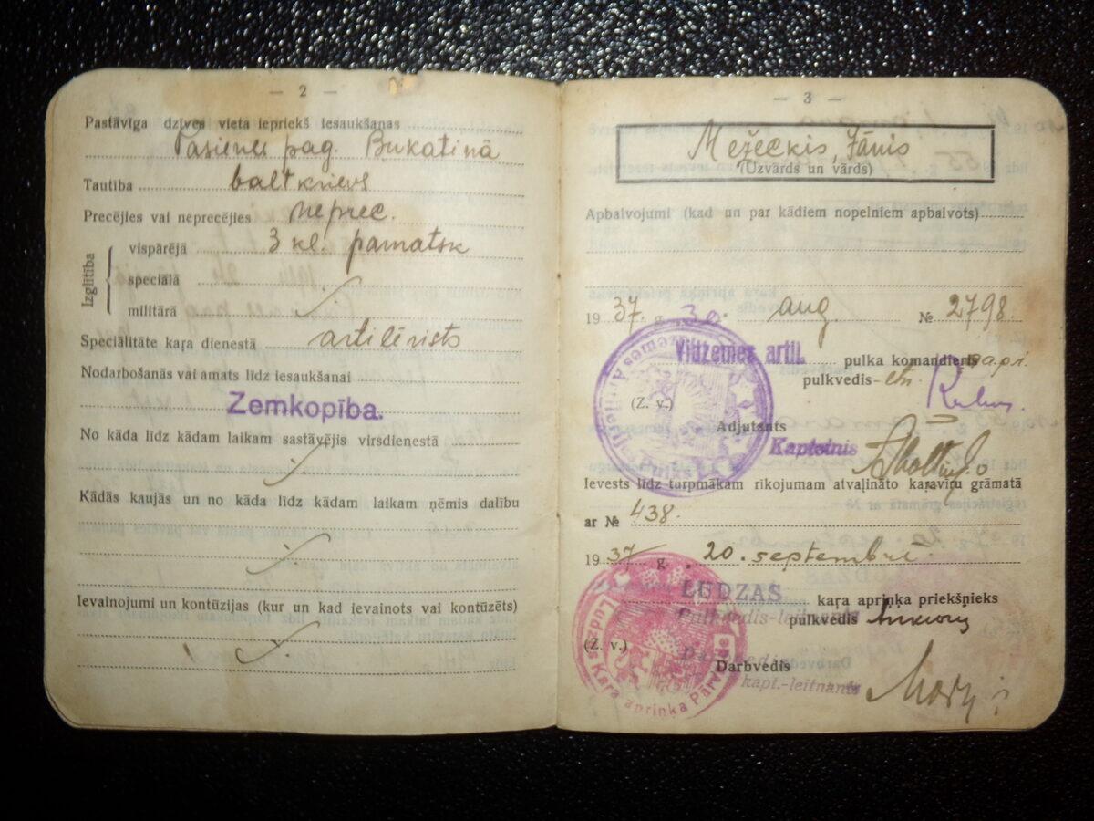Kareivja dokuments