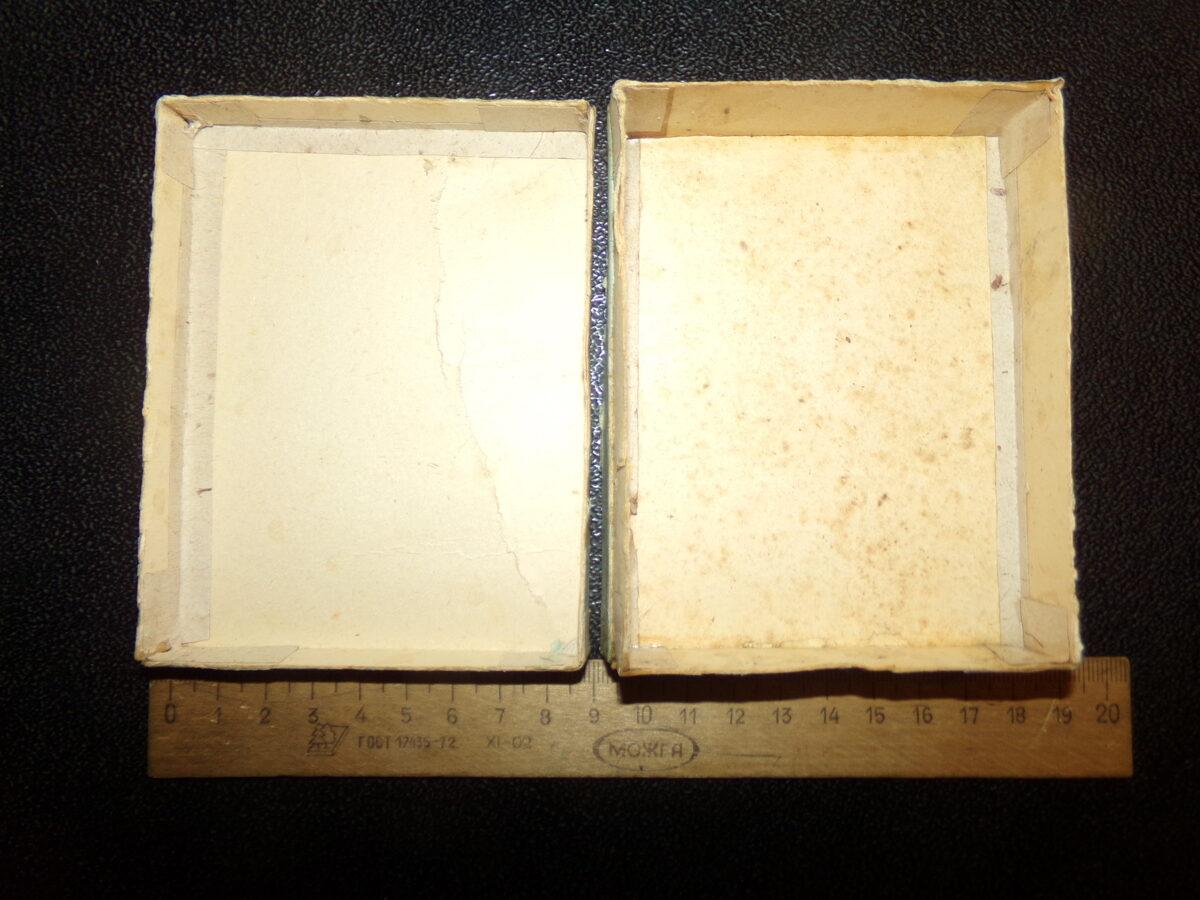 Коробка из под свечей. Латвия. 1920-30 года.