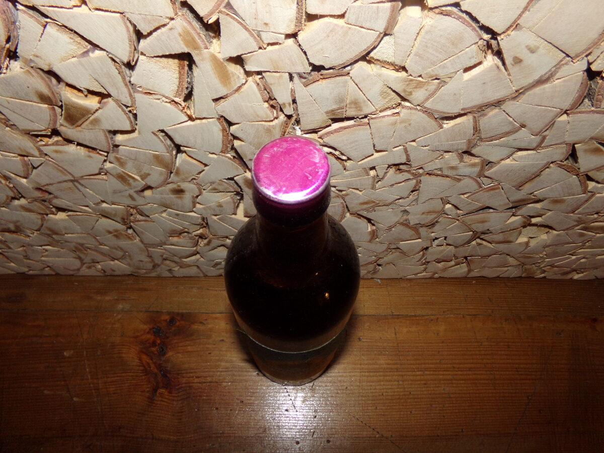 Запечатанная бутылка растительного масла. СССР.