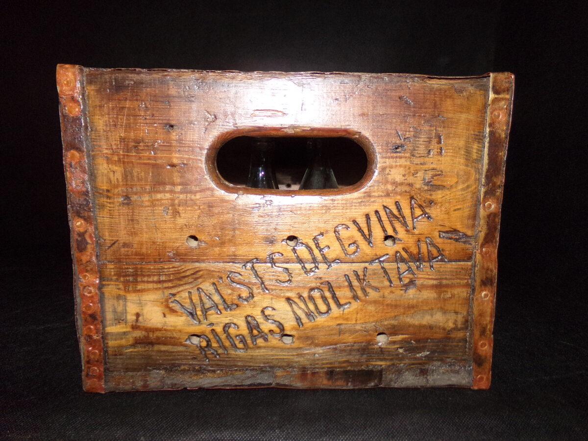 Водочный ящик.