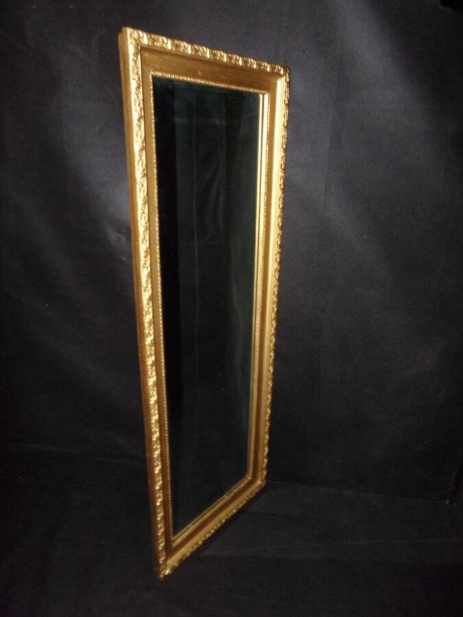 Зеркало в лепной раме. Граненое стекло.