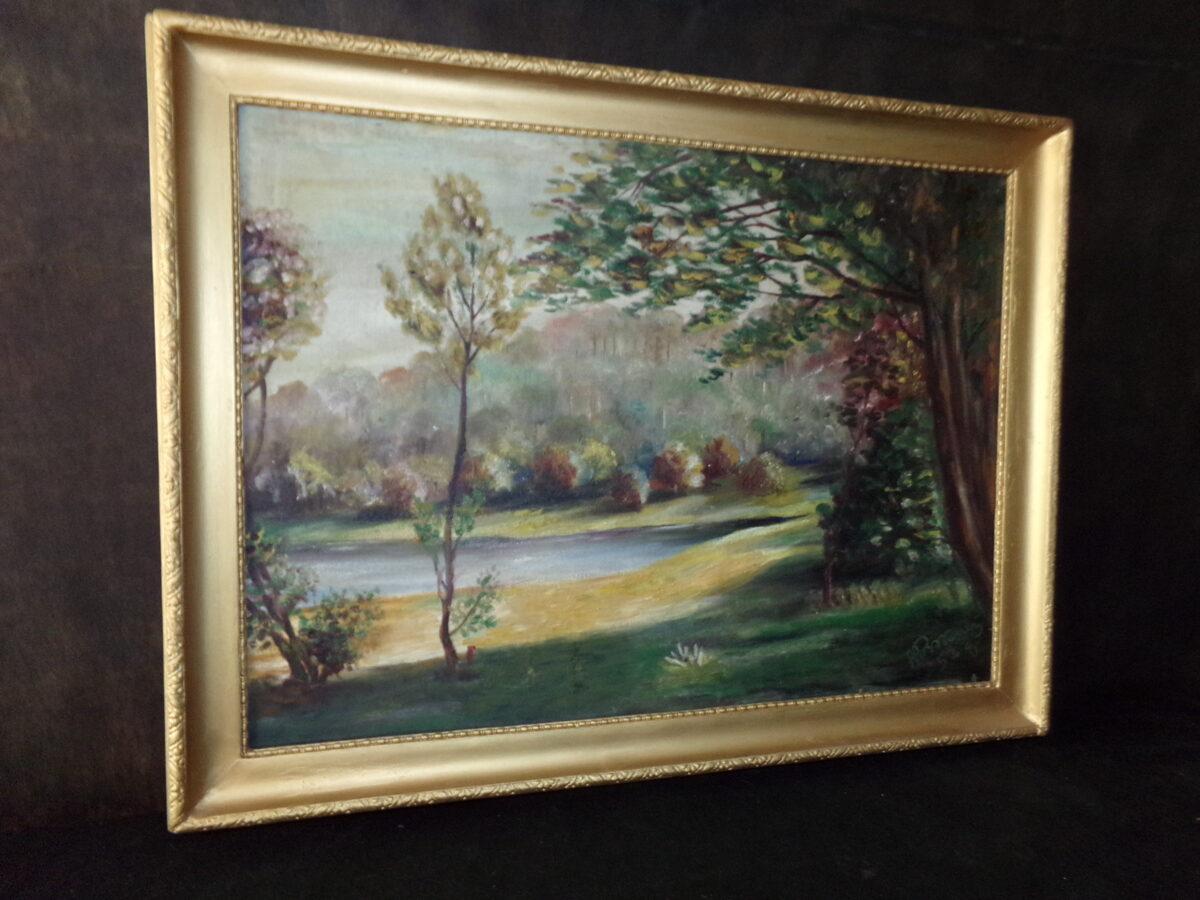 Пейзаж 1953 год.