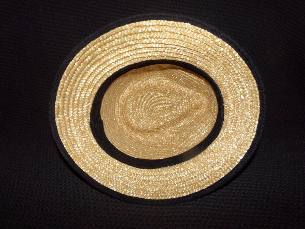 Соломенная шляпа.