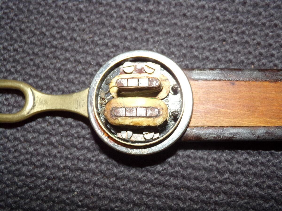 Не комплектная трубка от старинного телефона. Начало 20 века.