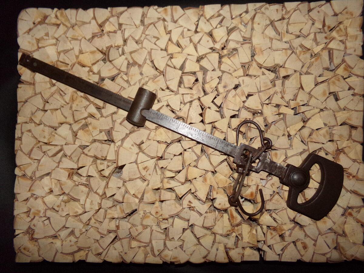 Dzelzs bezmēns līdz 10 kg. PSRS. 1952. gads.
