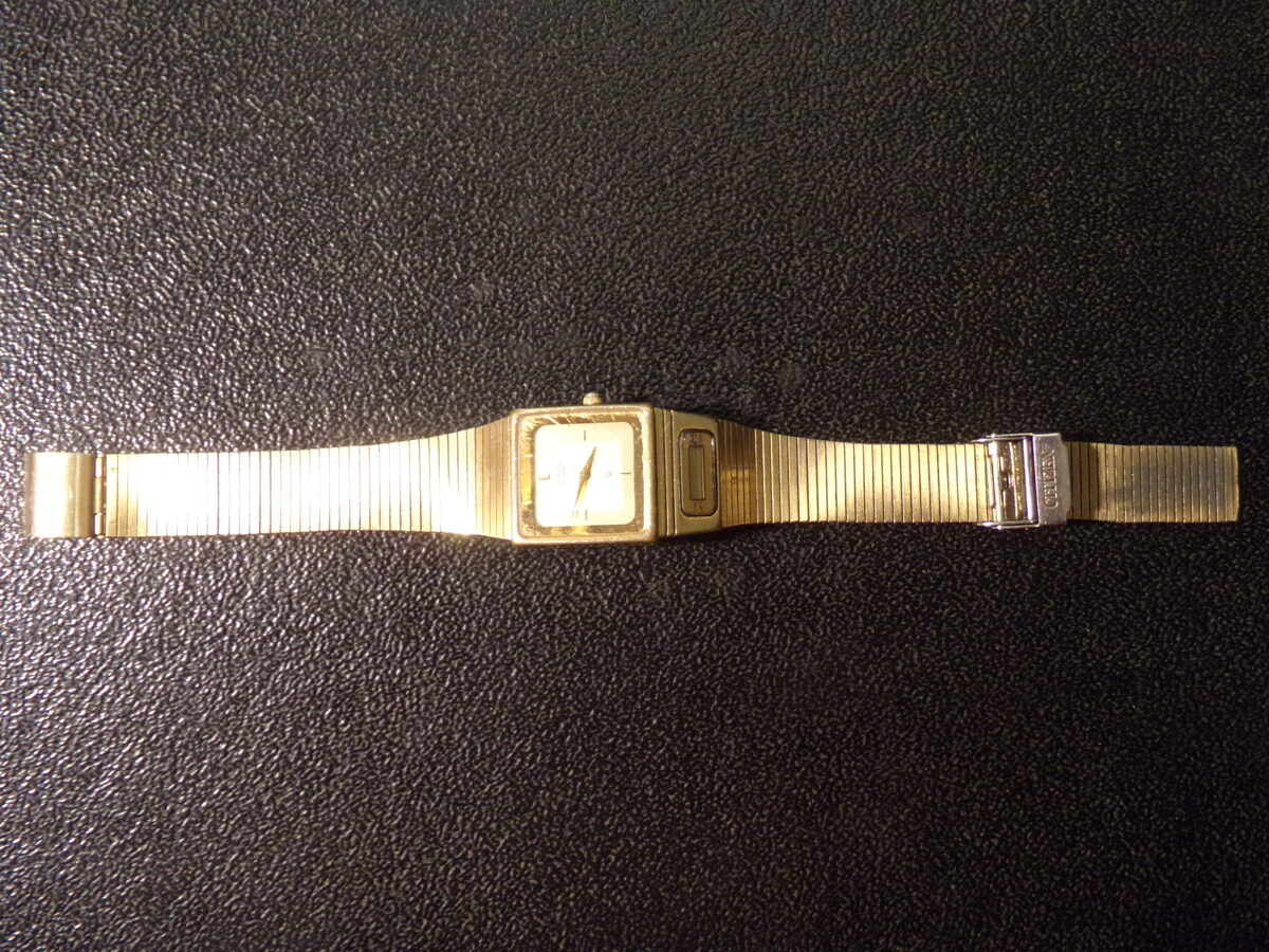 Кварцевые наручные часы. CITIZEN . 1980-тые года.