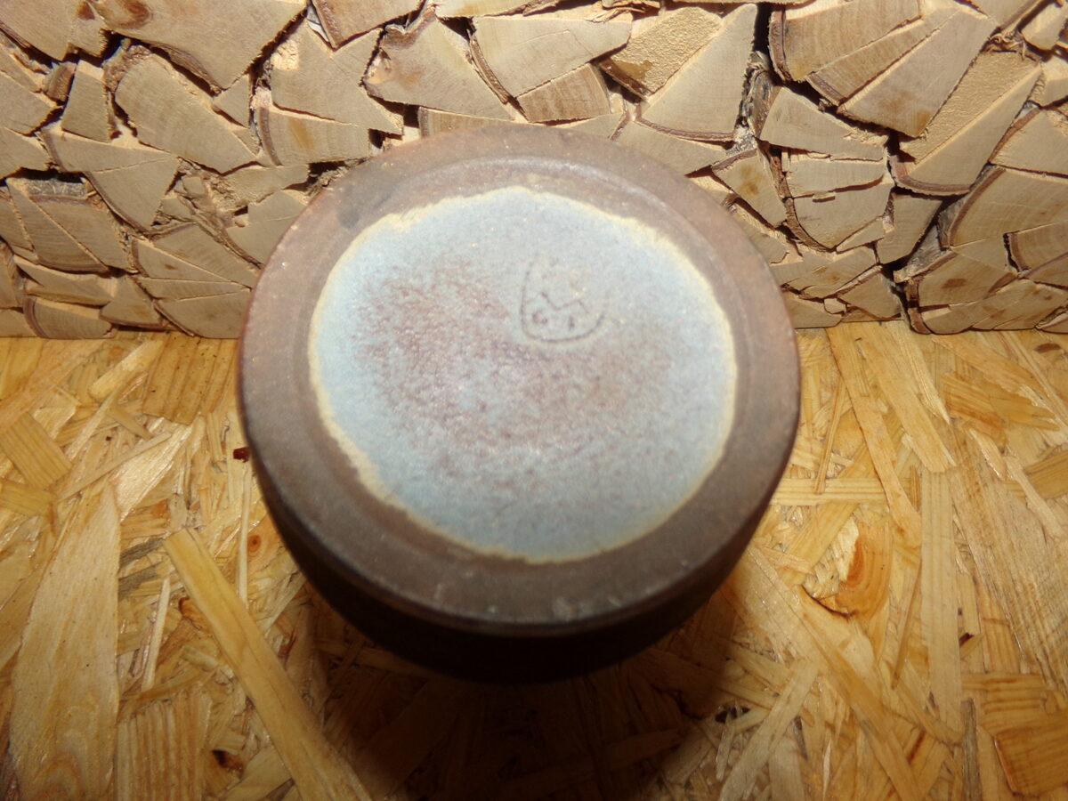 Vāze no pelēkzila māla. Nr 44