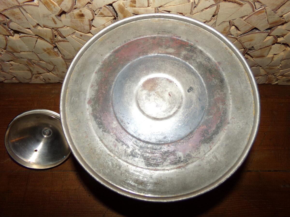 Хромированный чайник из латуни. СССР.