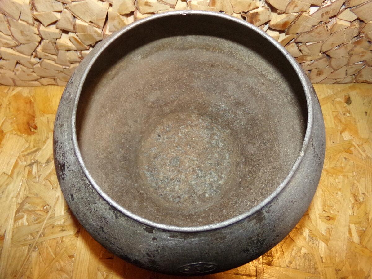 Алюминиевый горшок для печи с клеймом RSM. Объем 5 литров. Советская Латвия.
