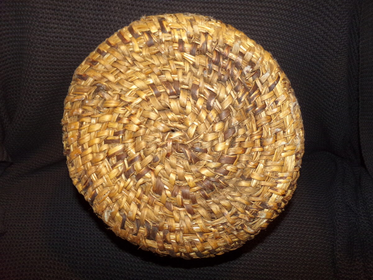 Круглая плетенка. Восточная Латвия. Начало 20 века.