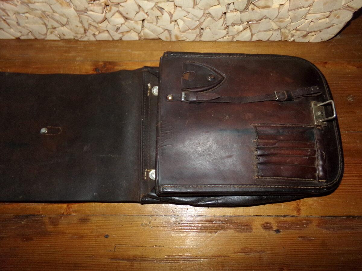 WW2 Кожаный планшет.