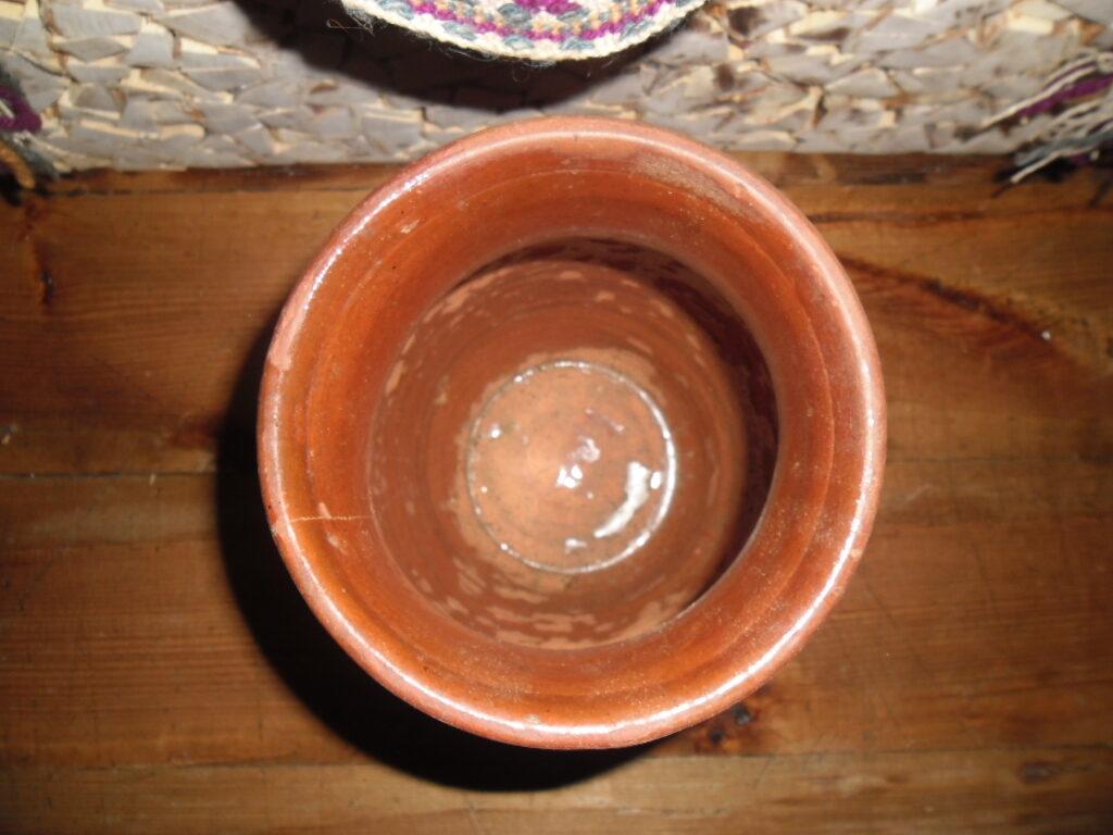 №15. Горшок с кленовым листом.