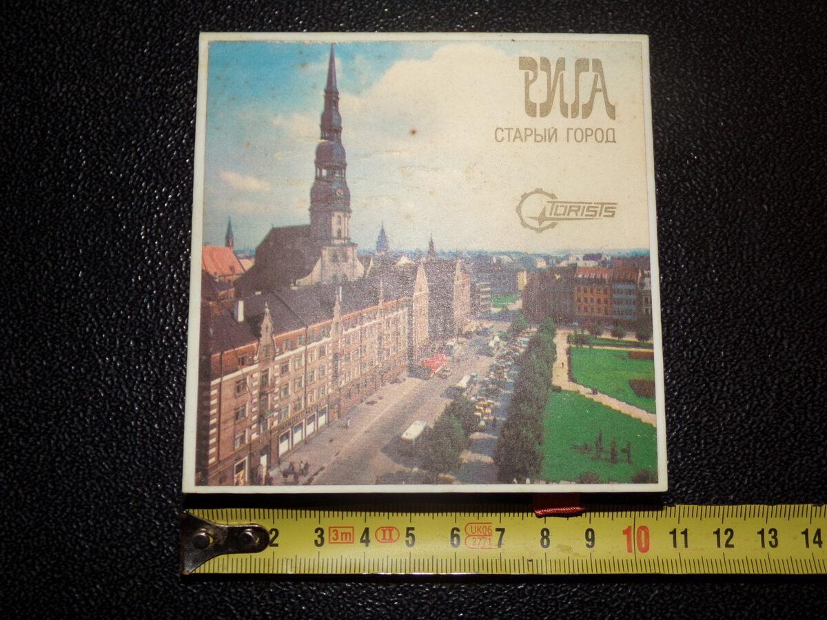 Декоративные спички. Советская Латвия. 1980-тые года.