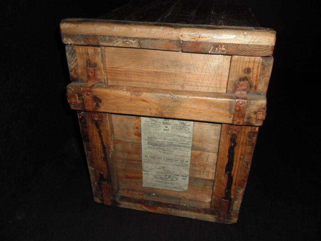 Ящик для граммофонных пластинок. Акционерное общество граммофон.