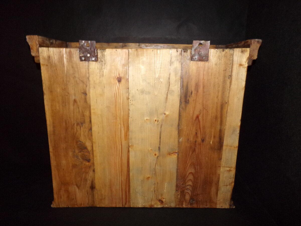 Открытый настенный шкафчик. Восточная Латвия. 19 век.