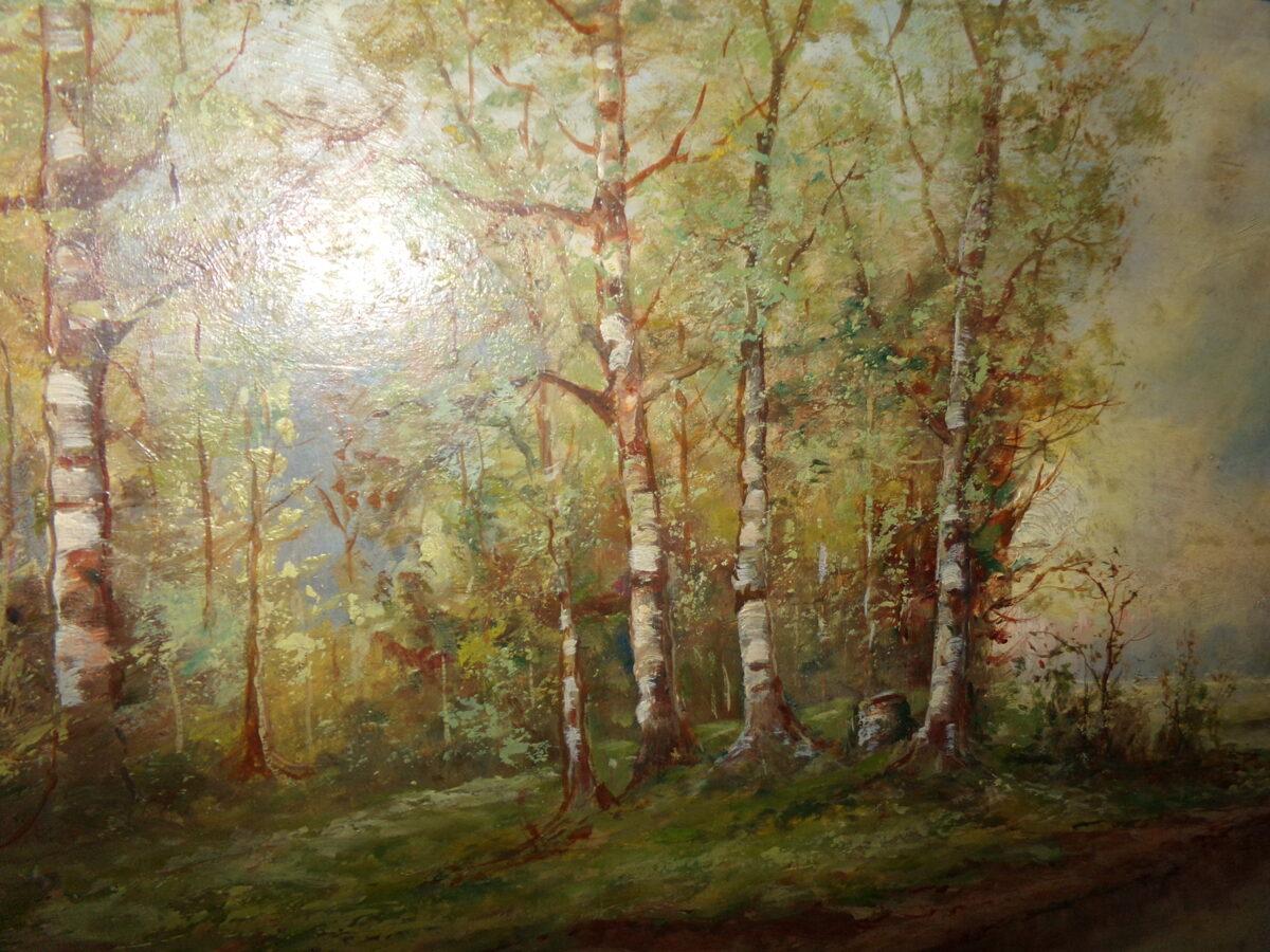 Glezna rāmi. Rozens