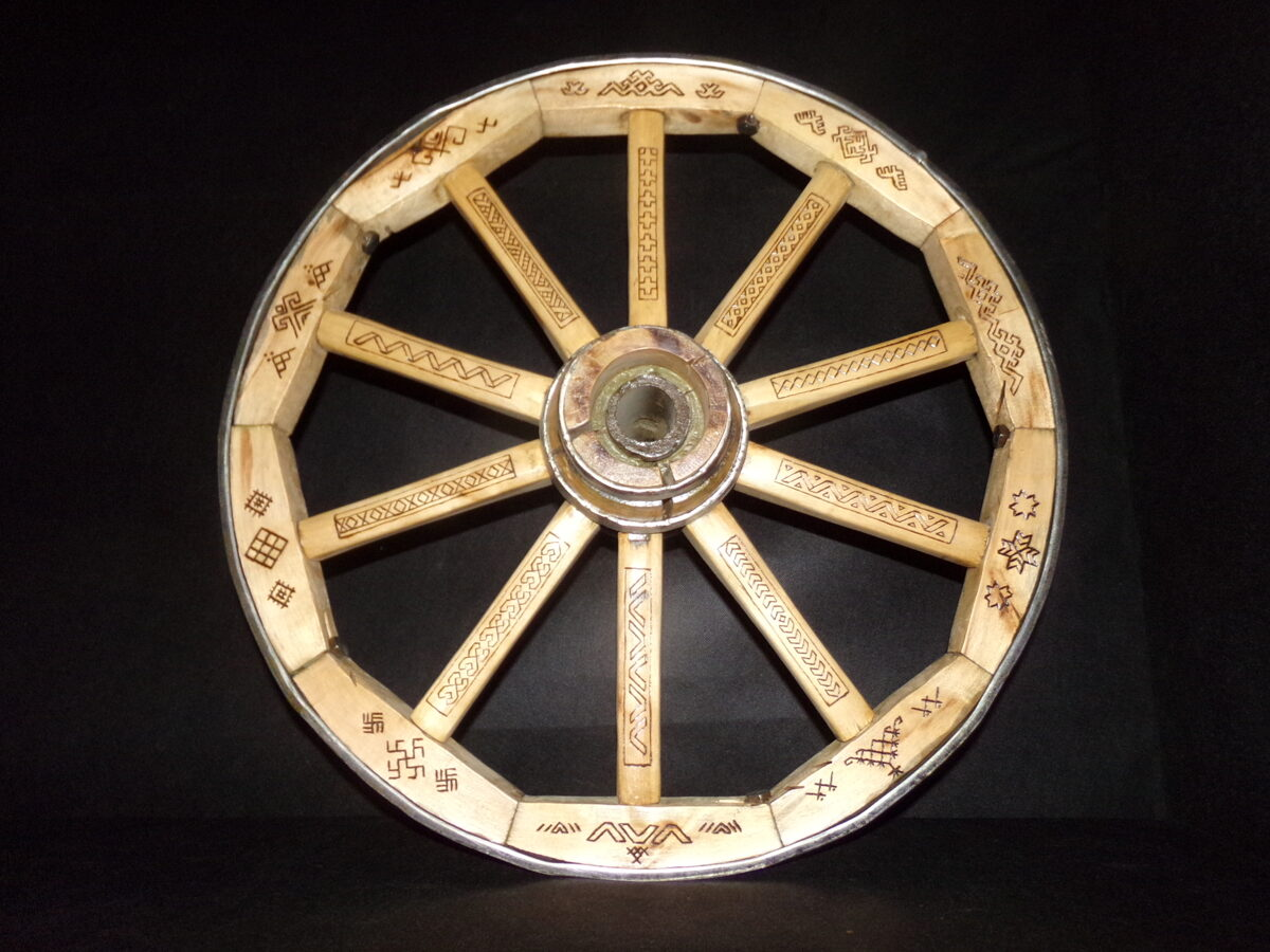Свадебное колесо .