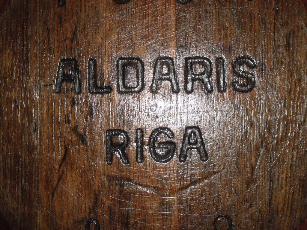 Дубовый боченок Алдарис. Рига.