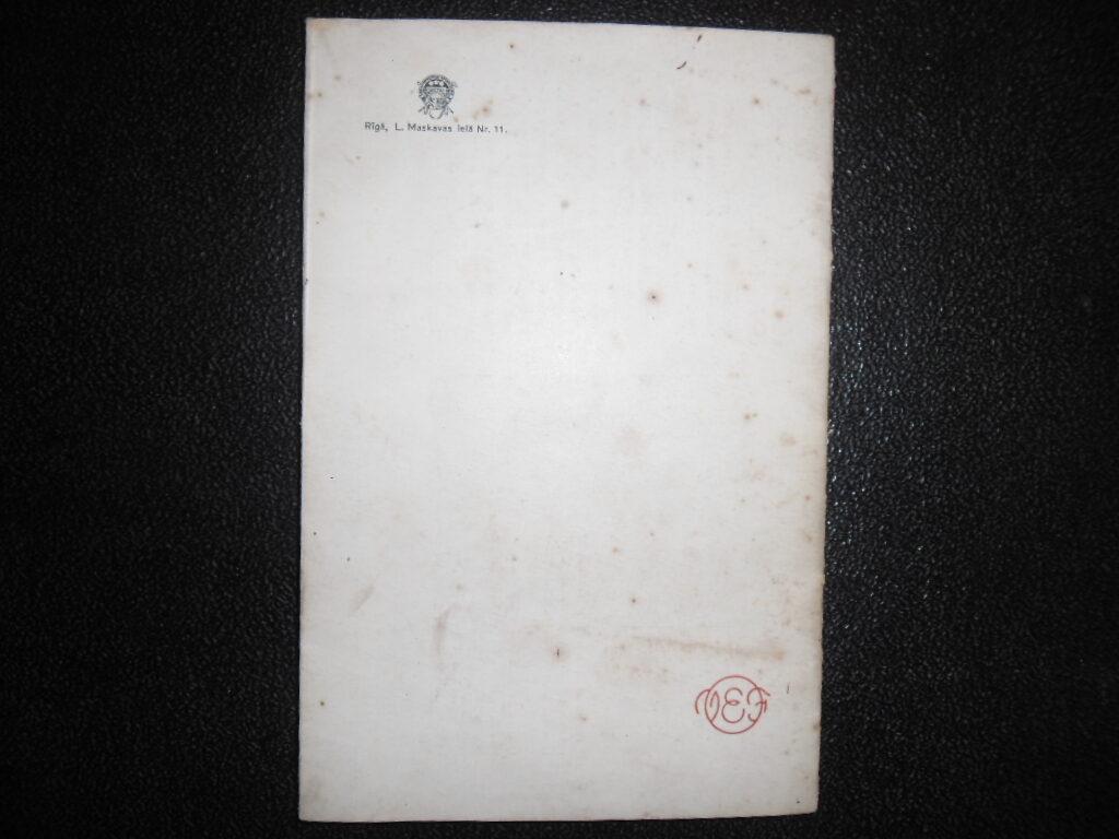 Radioaparatūras VEF katalogs. Latvija. 1937. gads.