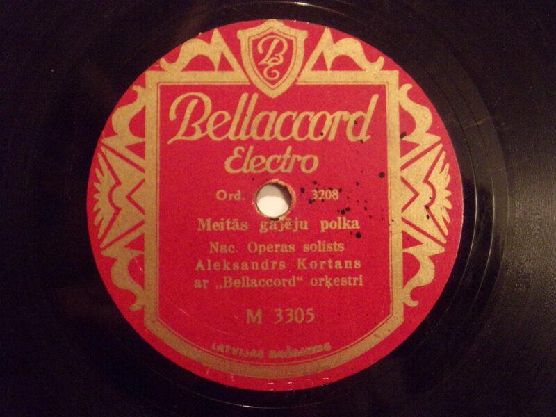 №10. Фирма Беллаккорд Электро. Производство Латвии. 1930-тые года.