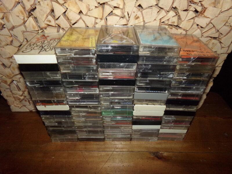 1990-to gadu audiokasetes. PSRS.