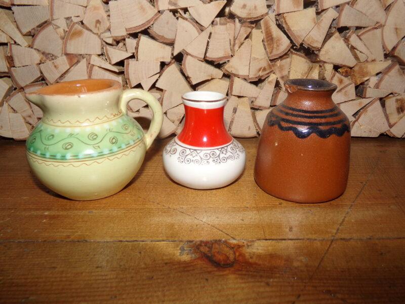 Три вазочки. Советская Латвия. 1960-тые года.