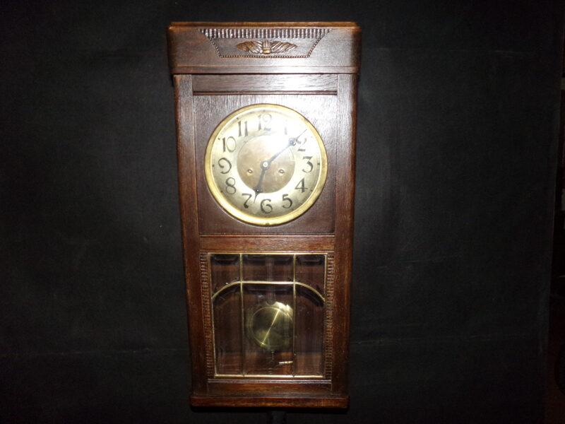 Настенные часы Густав Беккер. Начало 20 века.