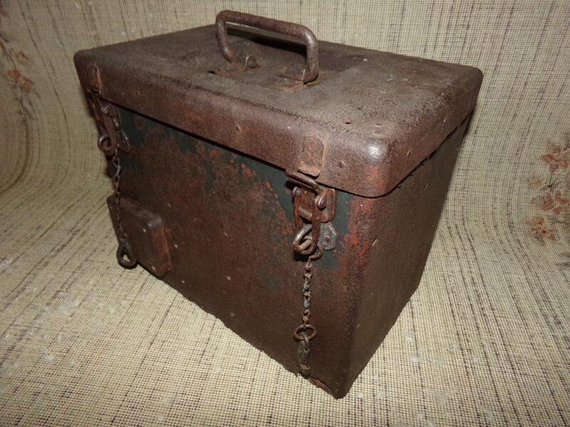 Ящик для радиостанции.