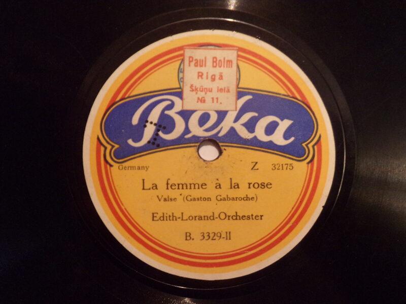 №5. Фирма Бeka. Производство Германии. Магазин Пауль Болм . Рига. Латвия 1920-30 года.
