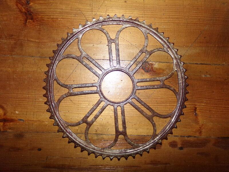 """Большая """"звезда"""" для велосипеда. Латвия. 1930-тые года."""
