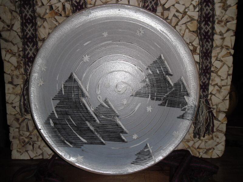 №7. Декоративная тарелка.