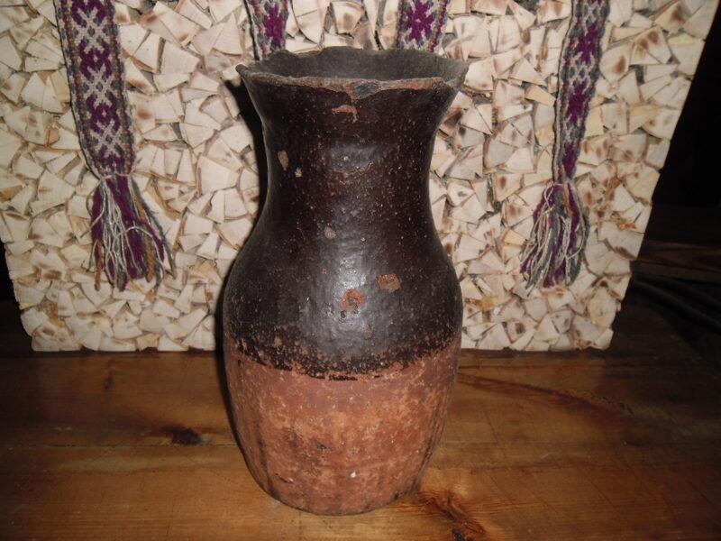 №4. Глиняный горшок. 19 век.